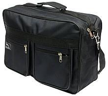 Большая мужская сумка через плечо хозяйственная (2631)