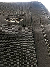 Чехлы на сиденья Chery Jaggi с 2006 г.в., автомобильные чехлы для Чери Джаги 2006- полный комплект