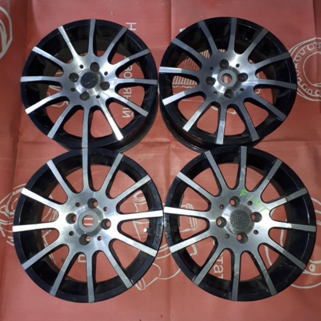 Диски колесные комплект 4шт R15 Fiat Фиат ВАЗ Peugeot Пежо 207