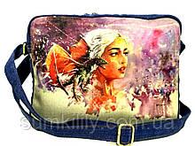 Джинсовая сумка Дейнерис