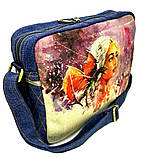 Джинсовая сумка Дейнерис, фото 2