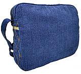 Джинсовая сумка Дейнерис, фото 4