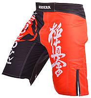 Мужские шорты для единоборств Berserk Sport черный/красный