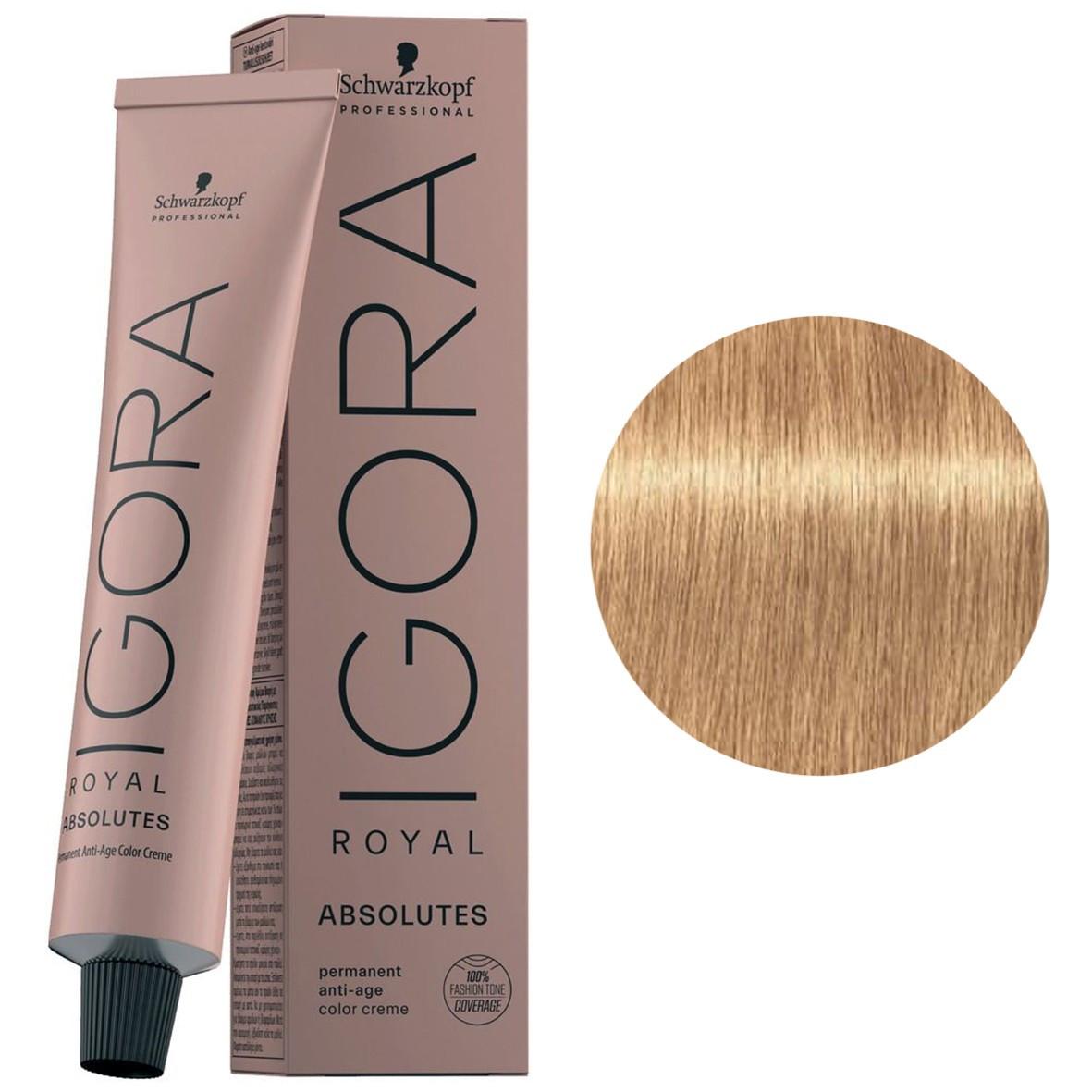 Краска для волос 9-560 Schwarzkopf Igora Royal Absolutes Светлый блондин золотистый-шоколад 60 мл