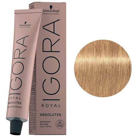 Краска для волос 9-560 Schwarzkopf Igora Royal Absolutes Светлый блондин золотистый-шоколад 60 мл, фото 2