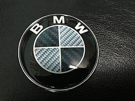 BMW 1 серия 2011↗ гг. Эмблема Карбон, Турция d83.5 мм, штыри