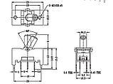 Переключатель PHONO/LINE  DSK1033 для Pioneer djm 800, фото 2