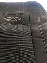 Чохли на сидіння Chery Tiggo з 2016 р. в., Автомобільні чохли для Чері Тіго 2016 - повний комплект