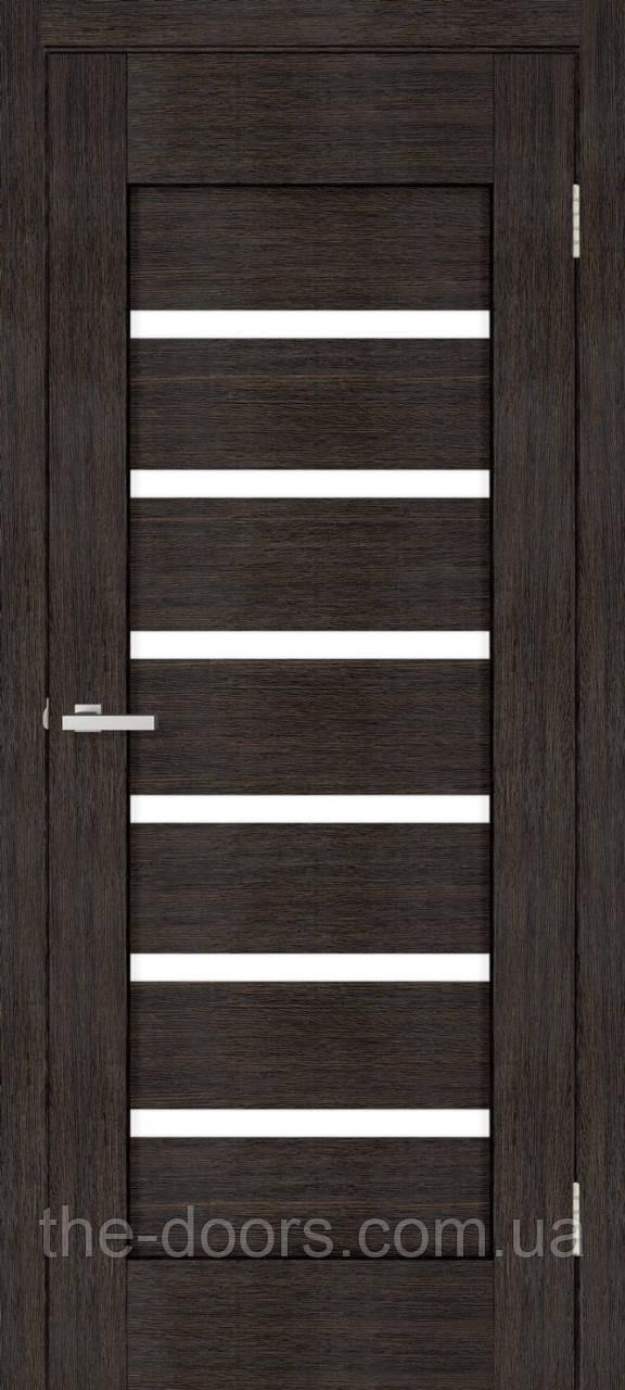 Двери межкомнатные ОМиС Лагуна стекло сатин