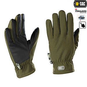 M-Tac рукавички Soft Shell Thinsulate Olive