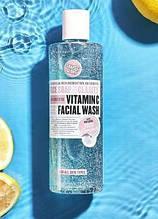 Гель для умывания 3 в 1 от Soap & glory vitamin c facial wash с витамином С, 350 мл