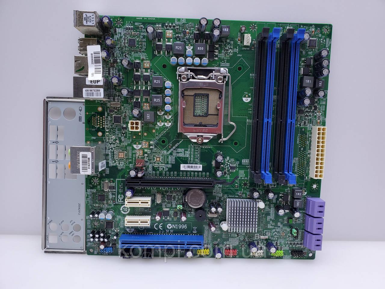 Материнская плата MEDION/MSI MS-7616   S1156 DDR3