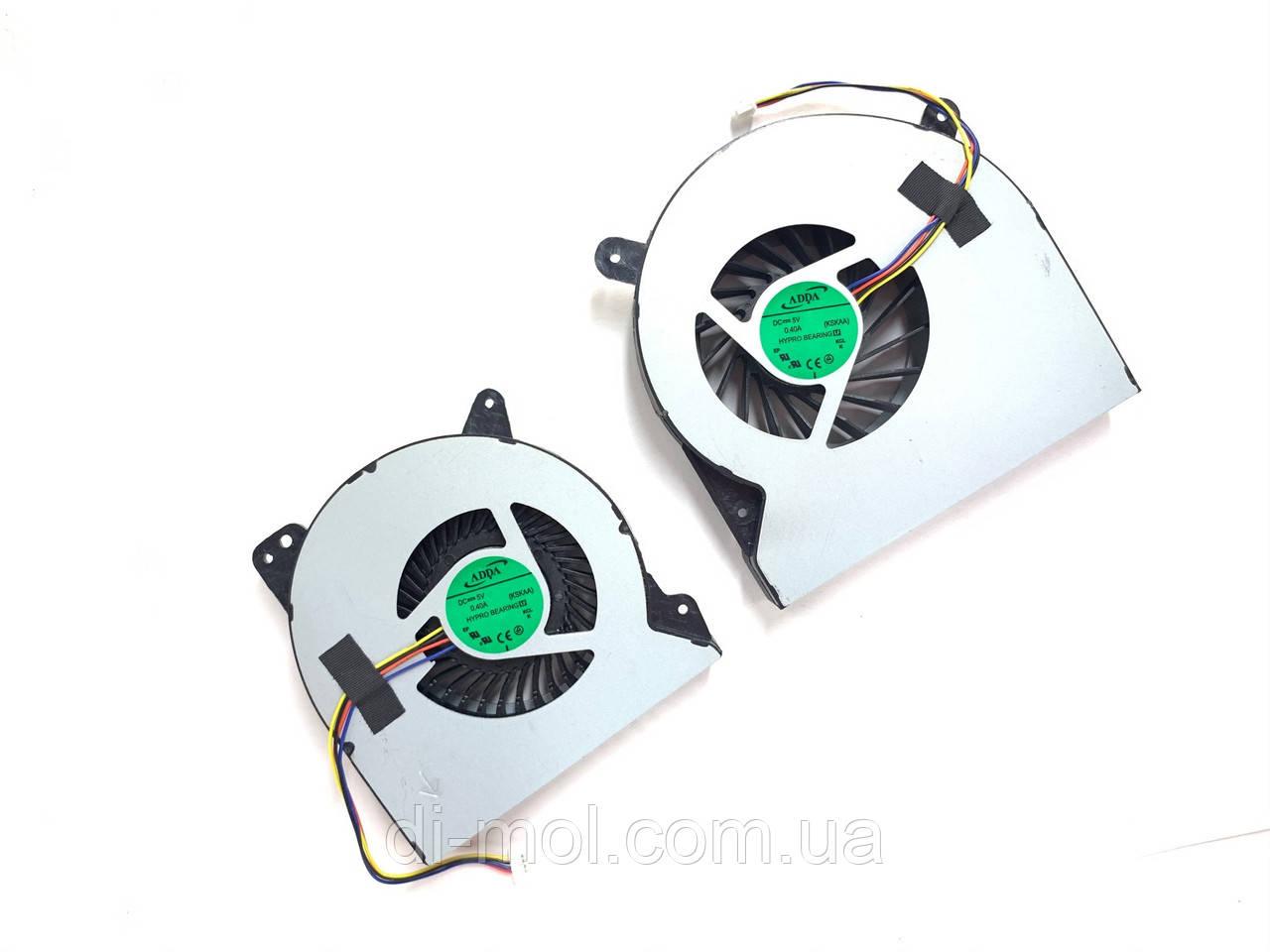 Вентилятор для ноутбука Asus ROG G750, G750JH, G750JM, G750JZ series, 4-pin (правий, лівий)