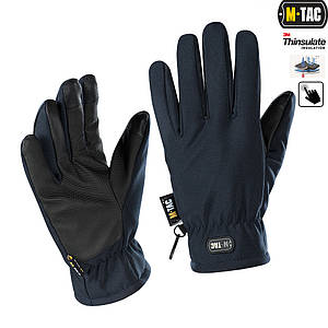 M-Tac рукавички Soft Shell Thinsulate Navy Blue