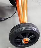 Бетономешалка бытовая Кентавр БМ-140Е чугунный венец 140л, фото 8