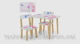 Столик і 2 стільці 507-37 Дерево Весна (KI00569)