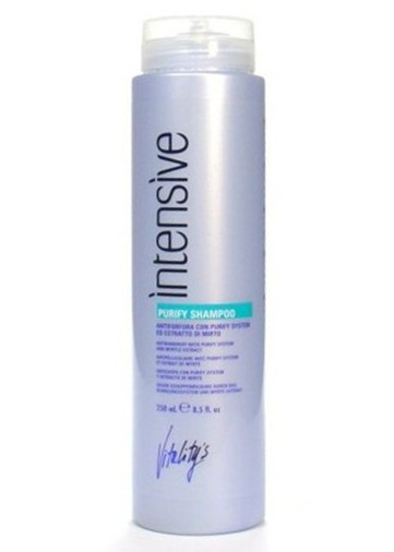 VITALITY'S Intensive Purufy Shampoo - Очищающий шампунь против перхоти с экстрактом мирта 1000 мл.