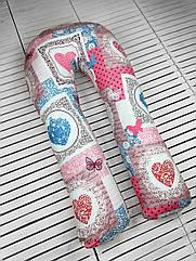 """Подушка для вагітних Beans Bag Підкова """"Кришталеве серце"""""""