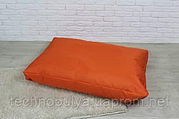 Бескаркасный лежак для собак Beans Bag из ткани Оксфорд стронг 115х75 см с чехлом Оранжевый (hub_whqy69951)