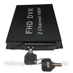 AHD видеорегистратор на 2 камеры Pomiacam MDVR (100398)