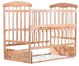 Кровать Наталка ОСМО Ольха светлая (60802)