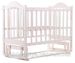 Кровать Babyroom Дина D201 Белый (60818)