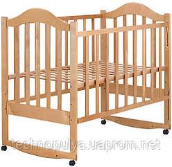 Ліжко Babyroom Діна D105 Коричневий (624547)