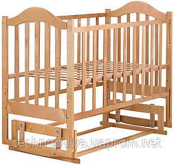 Ліжко Babyroom Діна D204 Коричневий (624548)