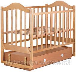 Ліжко Babyroom Діна D304 Коричневий (624549)