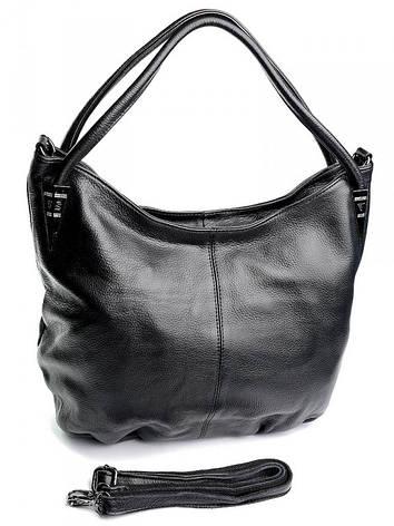 Жіноча сумка 9222 Черная, фото 2