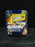 Gillette Fusion 5 ProShield сменные кассеты 4 шт в упаковке