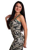 Женская майка для активного отдыха Berserk Sport камуфлированный