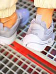 Женские кроссовки Nike Air Presto весна-осень-лето демисезонные в сетку сиреневые. Живое фото. Реплика, фото 3
