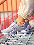 Женские кроссовки Nike Air Presto весна-осень-лето демисезонные в сетку сиреневые. Живое фото. Реплика, фото 5