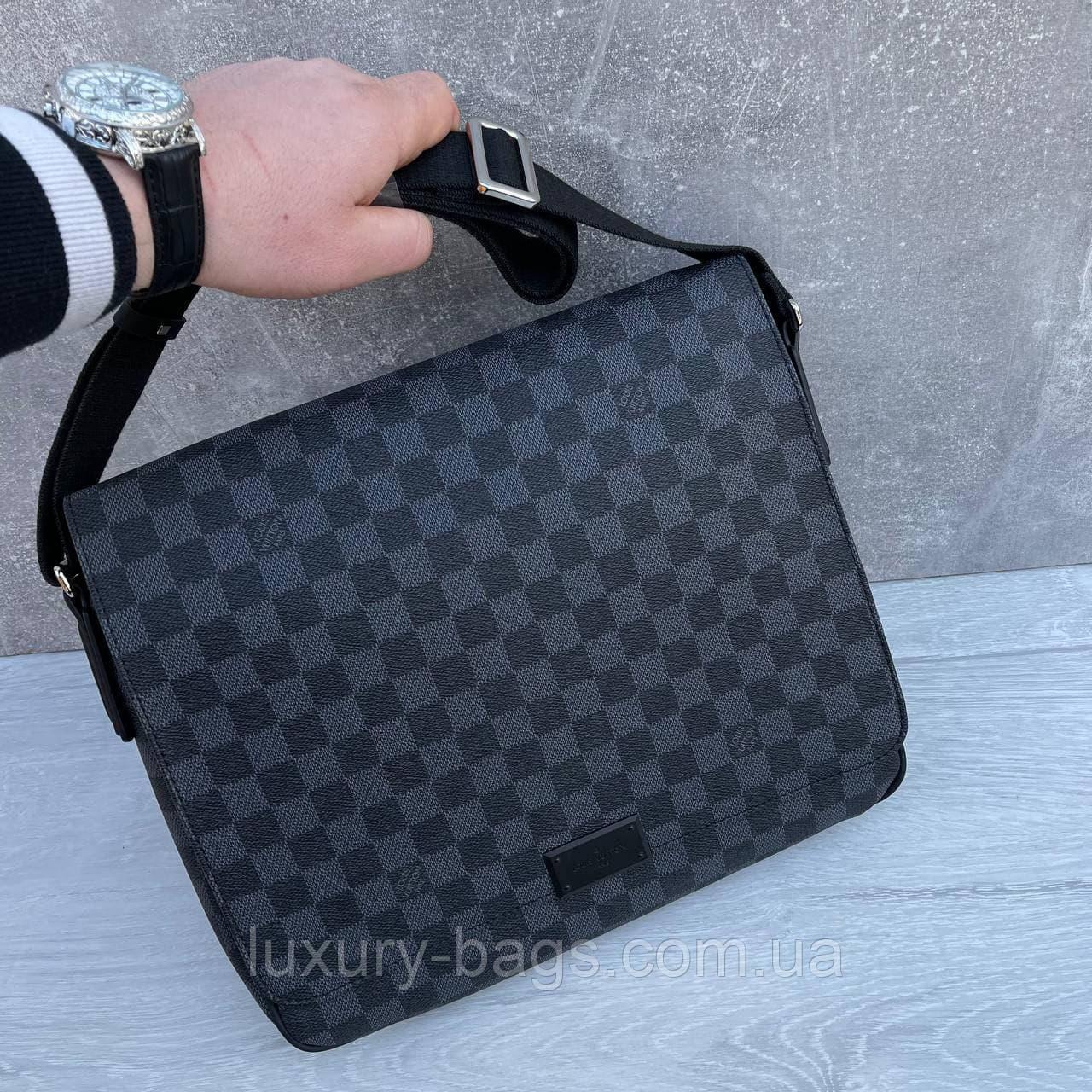 Чоловіча велика сумка Louis Vuitton Луї Віттон