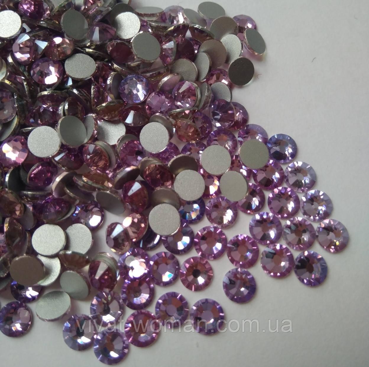 Стразы Премиум Violet Pink SS16 (4 мм) холодной фиксации. Цена за 144 шт