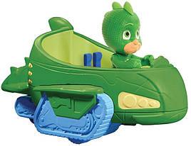 Машинка с героем Герои в масках ГРЕГ зеленый