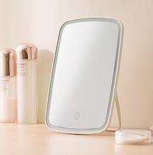 Дзеркало для макіяжу з підсвічуванням від Xiaomi YOUPIN JORDAN&JUDY Колір Білий