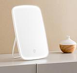 Зеркало для макияжа с подсветкой от Xiaomi YOUPIN JORDAN&JUDY Цвет Белый, фото 2