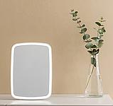 Зеркало для макияжа с подсветкой от Xiaomi YOUPIN JORDAN&JUDY Цвет Белый, фото 3
