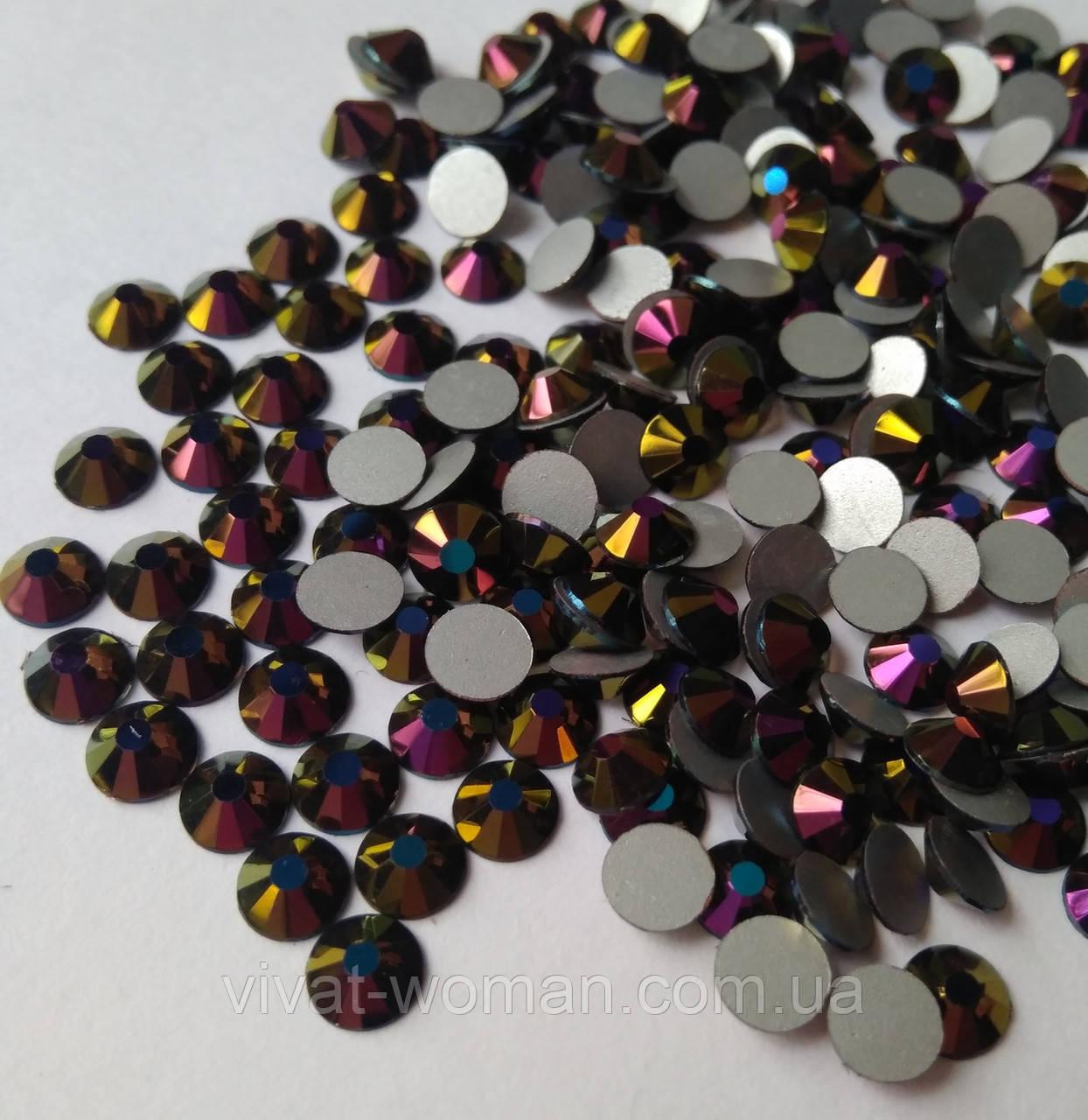 Стразы Премиум Purple Rainbow SS20 холодной фиксации. Цена за 144 шт