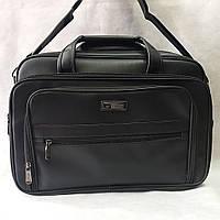 Портфель чёрный мужской для документов и ноутбука Stardragon
