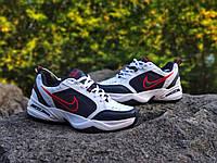 Nike Air Monarch White Blue Black (Білий) Найк Монархи