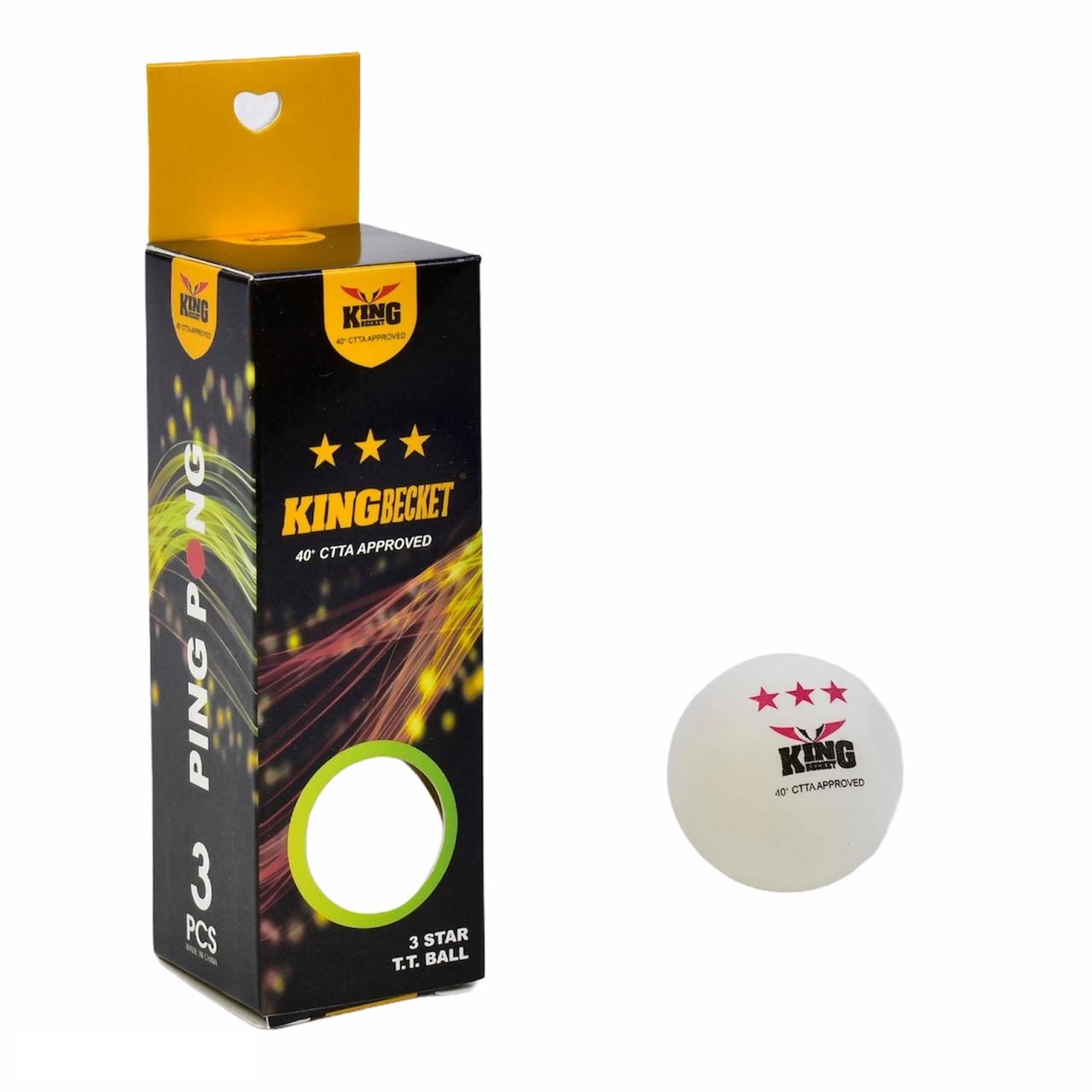 Мячи для настольного тенниса 3 шт шарики для пинг понга
