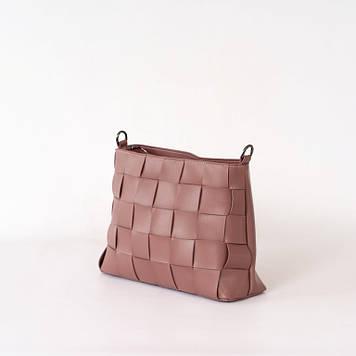 Трендовая  женская сумка с плетением Betty 01-21
