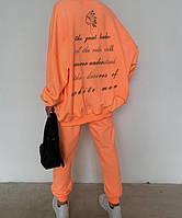 Жіночий стильний спортивний костюм оверсайз, фото 1