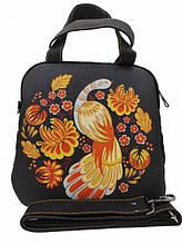 Сумки и рюкзаки с украинскими рисунками и схемами