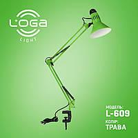"""Лампа настільна зі струбциною """"Трава"""". Україна.(ТМ LOGA ® Light)"""