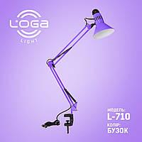 """Лампа настільна зі струбциною """"Бузок"""". Україна.(ТМ LOGA ® Light)"""