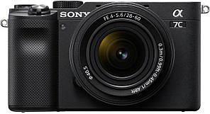 Фотоапарат SONY Alpha a7C + 28-60mm Black (ILCE7CLB.CEC) офіційна гарантія